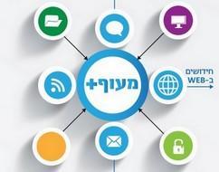 לא עומדים במקום: אתר ארגוני מעוף+ מערכת מידע ותקשורת החדישה בישראל!